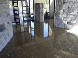 полированный шлифованный бетон